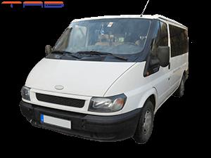 Bérelhető Ford Transit 2,0 Dízel 9 személyes mikrobusz